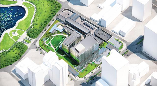 Quy mô khu phức hợp Đại sứ quán Mỹ 1,2 tỷ đô la ở Cầu Giấy, Hà Nội khủng cỡ nào? - Ảnh 1.