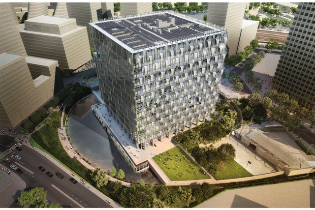 Quy mô khu phức hợp Đại sứ quán Mỹ 1,2 tỷ đô la ở Cầu Giấy, Hà Nội khủng cỡ nào? - Ảnh 4.