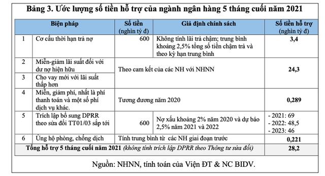 Lượng hóa các Gói hỗ trợ tiền tệ - tín dụng đối với nền kinh tế Việt Nam giai đoạn 2020-2021 và một số kiến nghị - Ảnh 4.