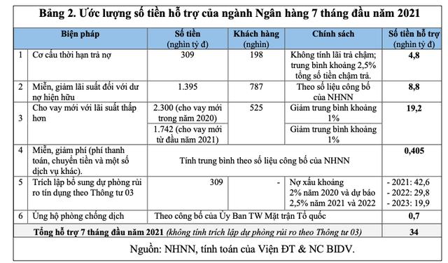 Lượng hóa các Gói hỗ trợ tiền tệ - tín dụng đối với nền kinh tế Việt Nam giai đoạn 2020-2021 và một số kiến nghị - Ảnh 3.