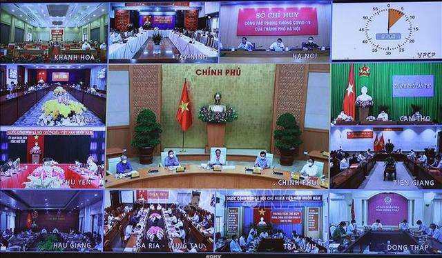 Thủ tướng Phạm Minh Chính: Đã hy sinh kinh tế, thực hiện giãn cách xã hội thì phải sớm đạt mục tiêu kiềm chế dịch bệnh  - Ảnh 3.