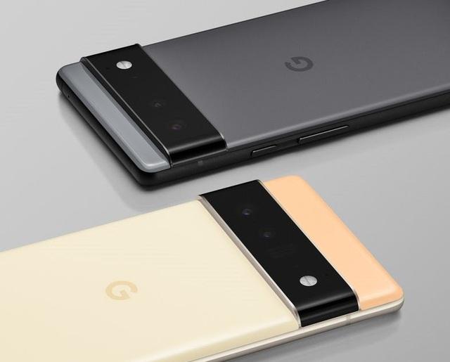Bom tấn Google Pixel 6 ra mắt: Kiểu dáng lạ mắt, dùng chip riêng giống Apple - Ảnh 1.