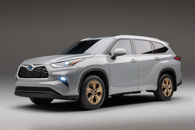 Toyota sắp ra mắt SUV siêu lớn Grand Highlander - Ảnh 1.