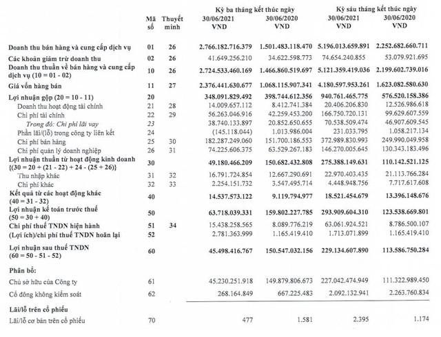 Gánh nặng chi phí, Lộc Trời (LTG) báo lãi quý 2 sụt giảm chưa bằng 1/3 cùng kỳ 2020 - Ảnh 1.