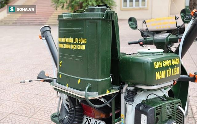 Chỉ Việt Nam mới có: Chế Honda Dream thành xe phun khử khuẩn lưu động, công suất tương đương sức 100 người - Ảnh 6.