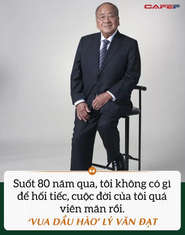 Vua dầu hào Lý Văn Đạt điều hành doanh nghiệp gia đình, bảo toàn danh hiệu giàu sang 5 đời của gia tộc đến hơi thở cuối cùng: Suốt 80 năm qua, tôi không có gì để hối tiếc! - Ảnh 3.