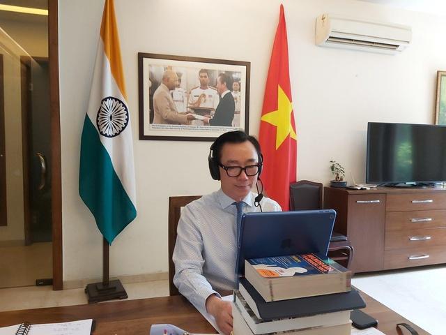 Đang đàm phán để đưa vắc xin Nanocovax của Việt Nam sang thử nghiệm và sản xuất đại trà tại Ấn Độ - Ảnh 1.