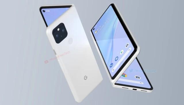 Google làm smartphone gập, cạnh tranh với Galaxy Fold của Samsung - Ảnh 2.