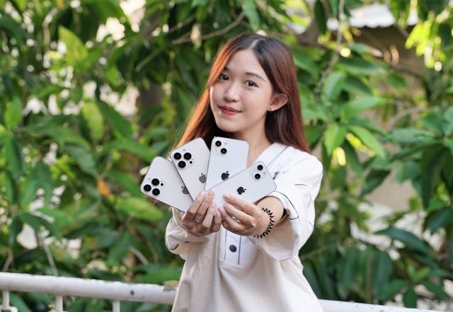Mô hình iPhone 13 xuất hiện tại Việt Nam - Ảnh 1.