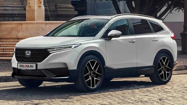Đây là chân dung Honda CR-V 2023? - Ảnh 1.