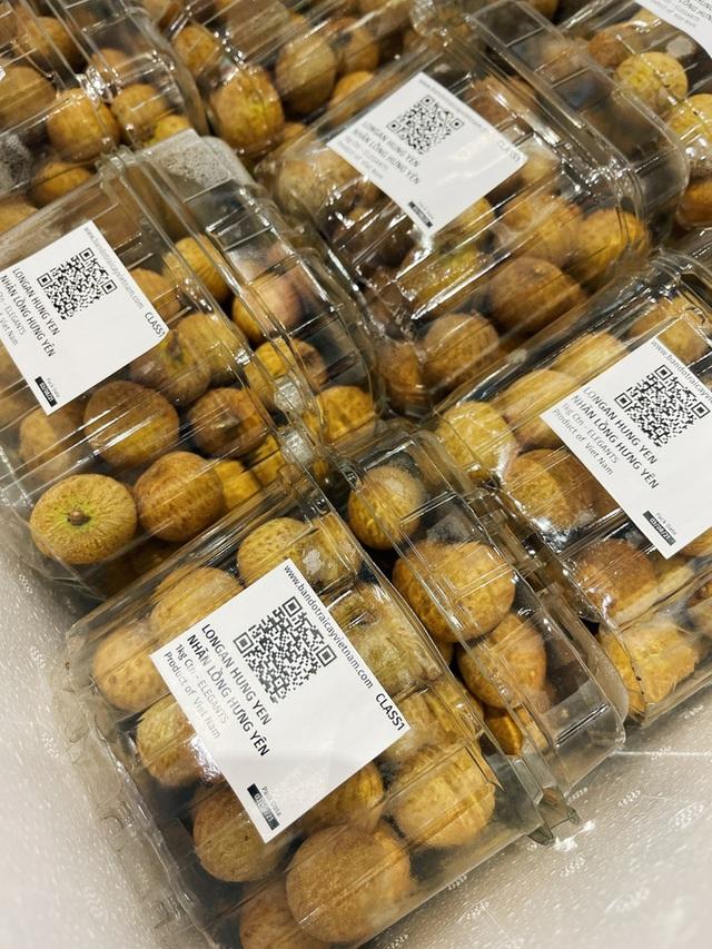 Nhãn lồng Hưng Yên xuất khẩu sang Singapore, bán gấp đôi giá loại cao cấp tại Việt Nam - Ảnh 1.