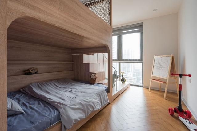 Ngắm căn hộ với gam màu nâu lạnh chất lừ của đôi vợ chồng trẻ tại Hà Nội - Ảnh 11.
