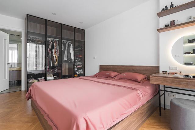 Ngắm căn hộ với gam màu nâu lạnh chất lừ của đôi vợ chồng trẻ tại Hà Nội - Ảnh 9.