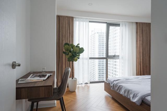 Ngắm căn hộ với gam màu nâu lạnh chất lừ của đôi vợ chồng trẻ tại Hà Nội - Ảnh 10.