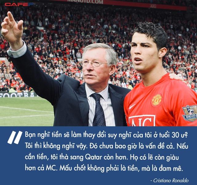 Đàn ông bản lĩnh phải quân tử nhất ngôn như Ronaldo, đã nói là làm: Thề không bao giờ gia nhập Man City, dám cạo đầu nếu vô địch, hứa ghi bàn tặng fan nhí ung thư - Ảnh 2.