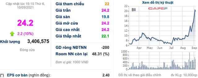 Louis Land (BII): Cổ phiếu tiếp tục kịch trần với 24.200 đồng/cp, kiểm toán nhấn mạnh loạt vấn đề trên BCTC soát xét - Ảnh 4.