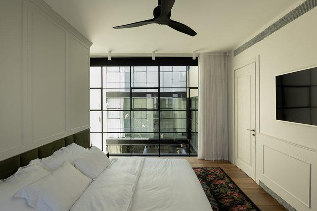 Biến nhà hoang thành nơi nghỉ dưỡng sang chảnh nhờ tường khung thép - Ảnh 14.