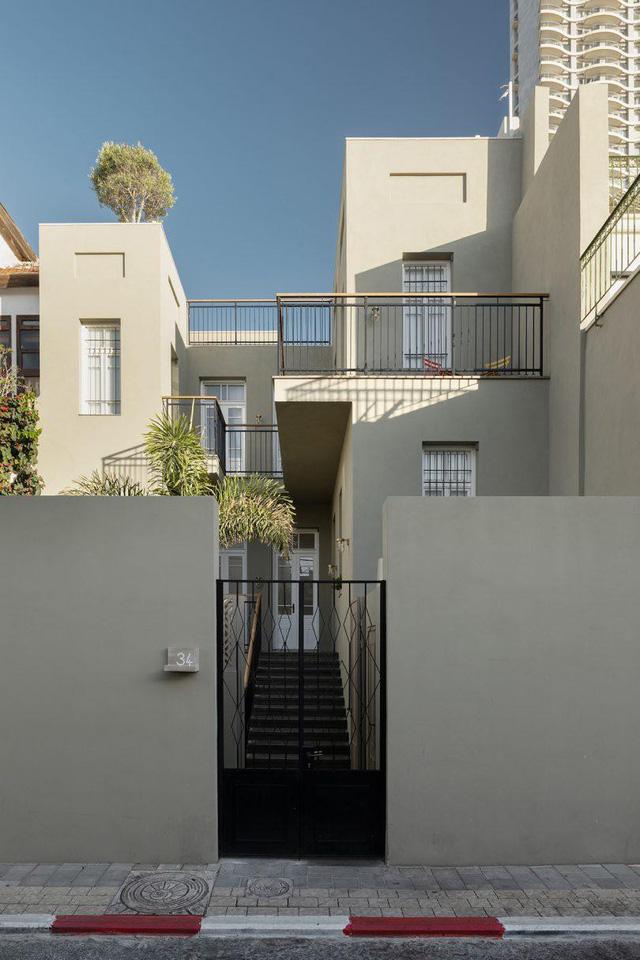 Biến nhà hoang thành nơi nghỉ dưỡng sang chảnh nhờ tường khung thép - Ảnh 3.