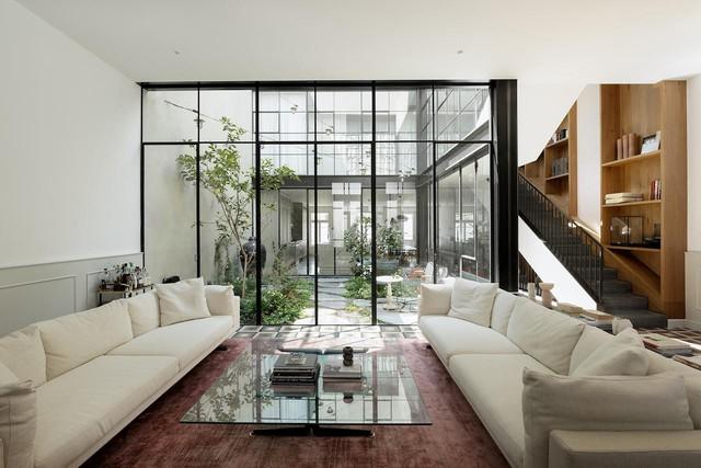 Biến nhà hoang thành nơi nghỉ dưỡng sang chảnh nhờ tường khung thép - Ảnh 6.