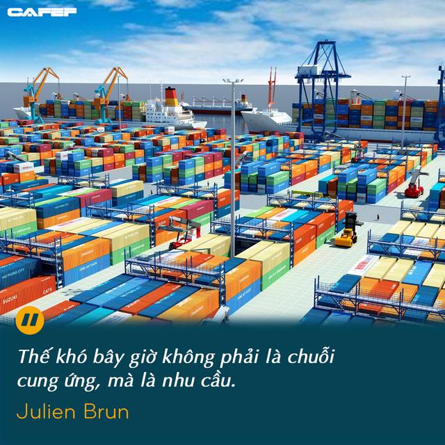 Chuyên gia quốc tế về chuỗi cung ứng: Từ tắc nghẽn cảng đến sản xuất đình trệ, điều gì xảy ra tiếp theo với Việt Nam? - Ảnh 2.