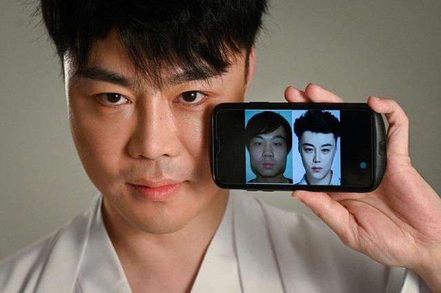 Lột trần khuôn mặt đẹp rạng ngời đúng chuẩn của nam giới Trung Quốc: Giật mình với sự thật đằng sau - Ảnh 2.