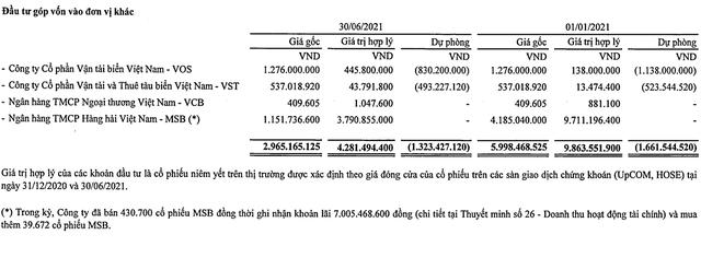 Một công ty vận tải biển của Vinalines hồi sinh, giá tăng gấp 8 lần trong 6 tháng - Ảnh 3.