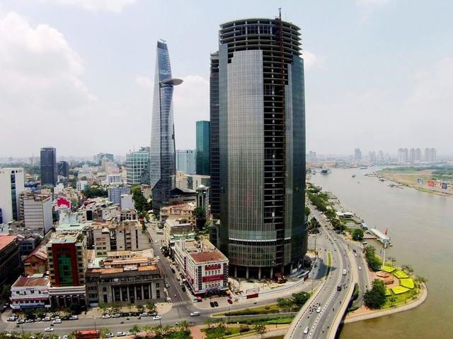 Gian nan hồi sinh cao ốc Saigon One Tower - Ảnh 1.