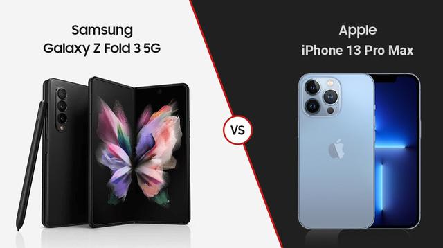 Nghịch lý iPhone 13 với Galaxy Z Fold3 - Ảnh 1.