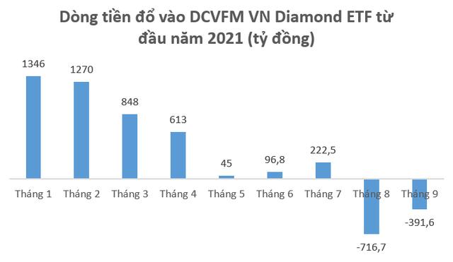 Quỹ ngoại nào đang đẩy mạnh rút vốn khỏi Diamond ETF? - Ảnh 2.