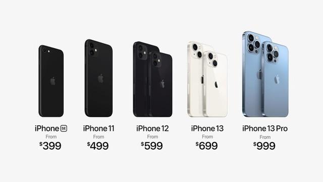 Apple ra mắt iPhone 13 series: Hiệu năng mạnh nhất làng di động, camera, pin đều nâng cấp, giá từ 699 USD - Ảnh 4.
