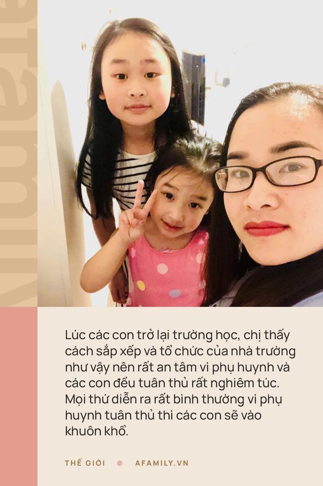 Mẹ Việt ở Anh chia sẻ cách con đi học thời Covid-19: Nhìn con được đến lớp vui lắm, yên tâm tuyệt đối với mô hình trường bong bóng - Ảnh 1.