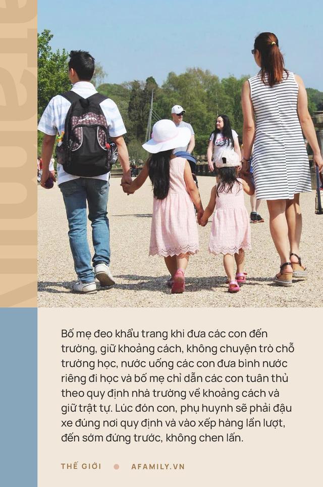 Mẹ Việt ở Anh chia sẻ cách con đi học thời Covid-19: Nhìn con được đến lớp vui lắm, yên tâm tuyệt đối với mô hình trường bong bóng - Ảnh 3.