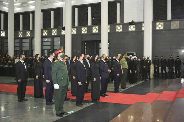 Tổ chức trọng thể Lễ truy điệu Đại tướng Phùng Quang Thanh  - Ảnh 3.