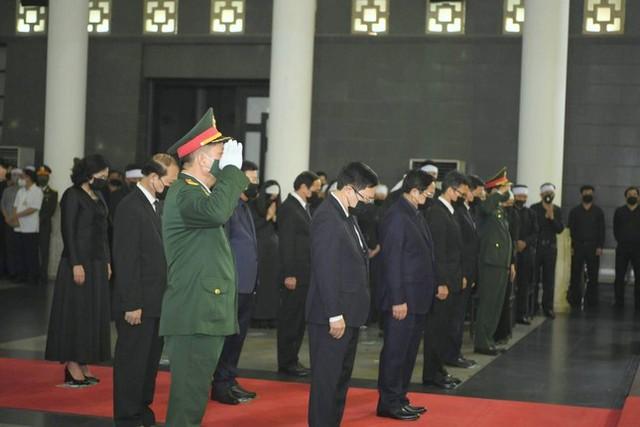 Tổ chức trọng thể Lễ truy điệu Đại tướng Phùng Quang Thanh  - Ảnh 4.