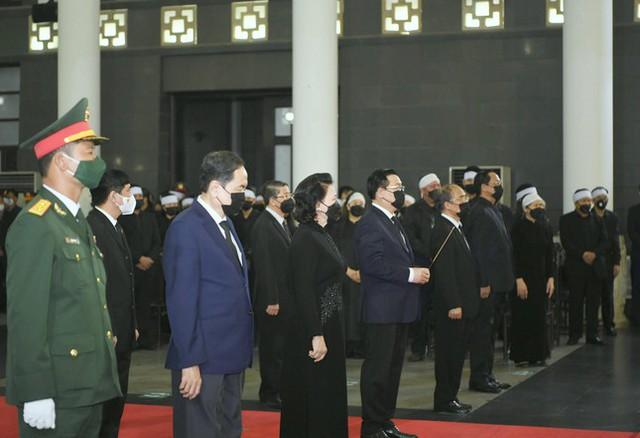 Tổ chức trọng thể Lễ truy điệu Đại tướng Phùng Quang Thanh  - Ảnh 5.