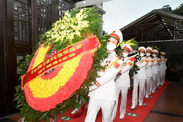 Tổ chức trọng thể Lễ truy điệu Đại tướng Phùng Quang Thanh  - Ảnh 7.