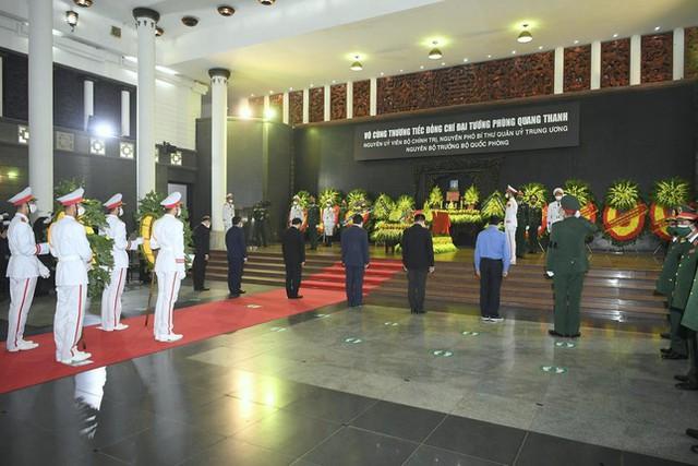 Tổ chức trọng thể Lễ truy điệu Đại tướng Phùng Quang Thanh  - Ảnh 8.