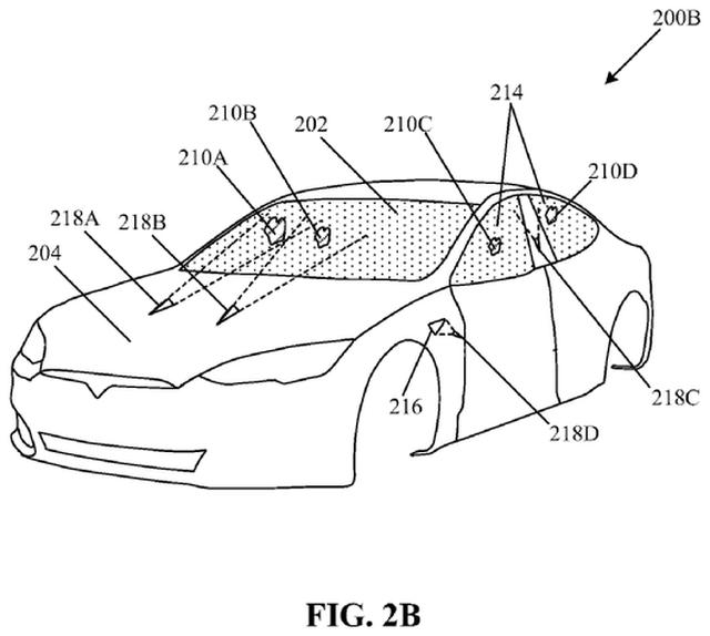Xe điện gắn súng laser: Tesla đăng ký bằng sáng chế sử dụng tia laser thay cần gạt nước - Ảnh 3.
