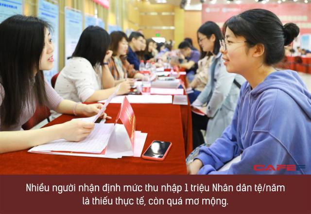 Sinh viên gen Z Trung Quốc: Chưa tốt nghiệp đã mong thu nhập 3,5 tỷ/năm, cực kỳ tự tin vào năng lực của mình - Ảnh 1.