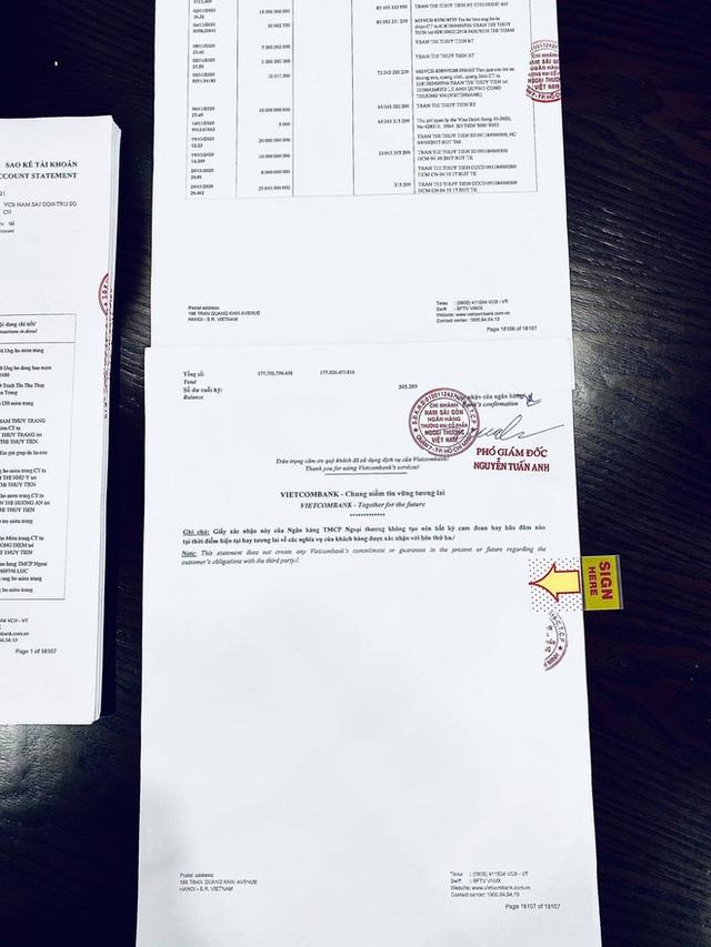 Thuỷ Tiên công bố 18.000 trang sao kê ngân hàng, làm rõ các khoản thu - chi và chốt 1 ý đặc biệt quan trọng  - Ảnh 4.