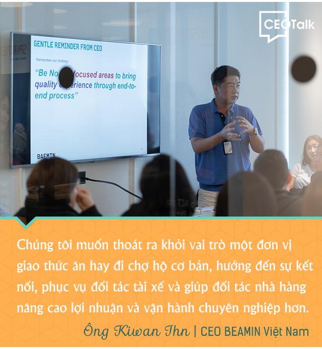 CEO BAEMIN Việt Nam - Chúng tôi muốn thoát khỏi vai trò một đơn vị giao thức ăn đơn thuần - Ảnh 3.