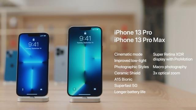 Apple khoe ảnh chi tiết 4 mẫu iPhone 13 vừa ra mắt  - Ảnh 3.