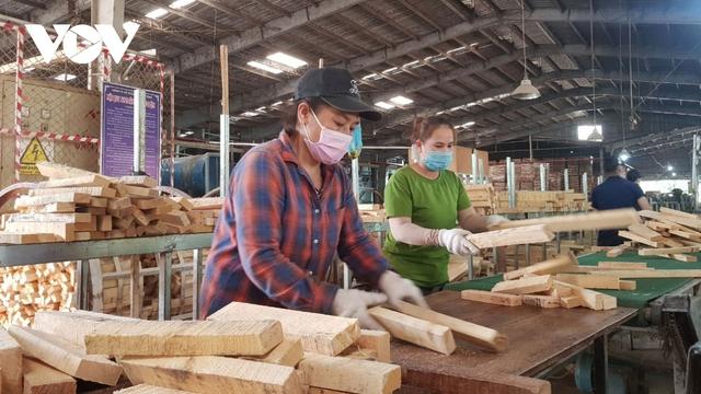 Long An hỗ trợ doanh nghiệp vay vốn,trả nợ lương cho hàng ngàn công nhân - Ảnh 1.