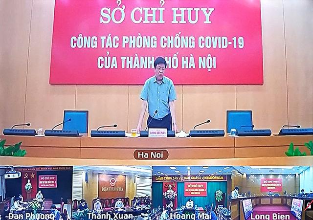 Sau ngày 21/9 Hà Nội dự kiến nới lỏng từng bước, sẽ chú trọng quét mã QR - Ảnh 1.