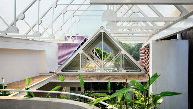 Cặp vợ chồng 9x bỏ Hà Nội về Thái Nguyên tậu cơ ngơi hoành tráng, tận hưởng cuộc sống yên bình với khu vườn trên cao cực chất  - Ảnh 10.