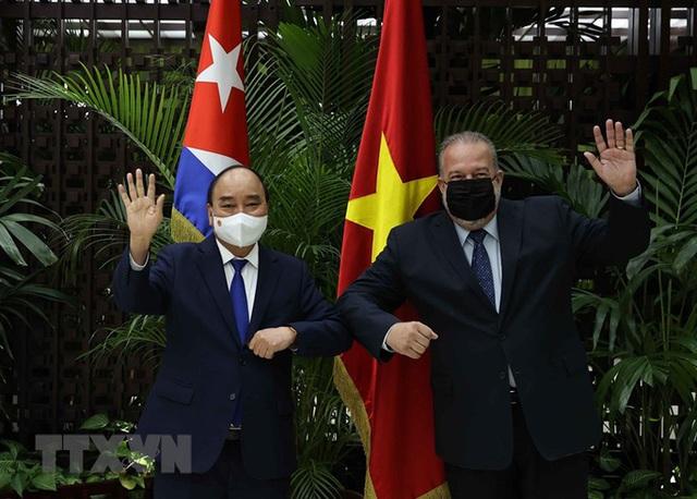 Chủ tịch nước cảm ơn Cuba sẵn sàng hợp tác sản xuất vắc-xin Abdala với Việt Nam  - Ảnh 2.