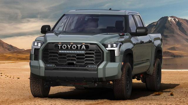 Toyota Tundra 2022 ra mắt: Bán tải full-size đậm chất cơ bắp, ngập tràn công nghệ - Ảnh 10.
