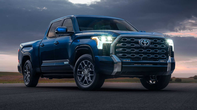 Toyota Tundra 2022 ra mắt: Bán tải full-size đậm chất cơ bắp, ngập tràn công nghệ - Ảnh 1.