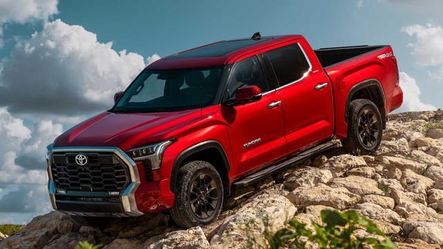 Toyota Tundra 2022 ra mắt: Bán tải full-size đậm chất cơ bắp, ngập tràn công nghệ - Ảnh 5.
