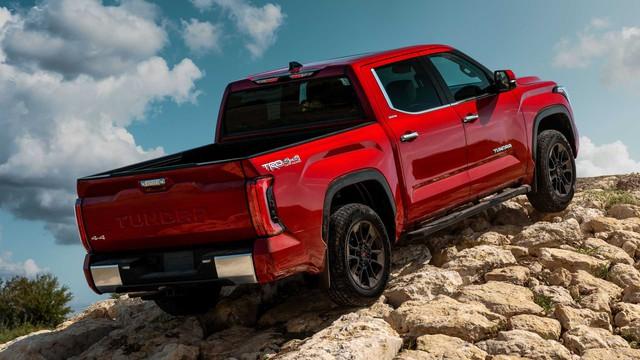 Toyota Tundra 2022 ra mắt: Bán tải full-size đậm chất cơ bắp, ngập tràn công nghệ - Ảnh 6.